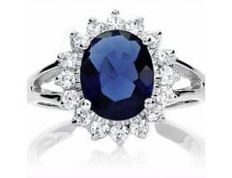 Liz's Blue Sapphire Ring