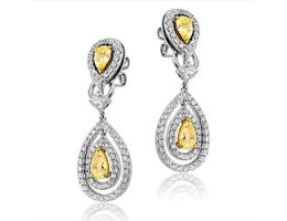 Canarian Diamond Earrings